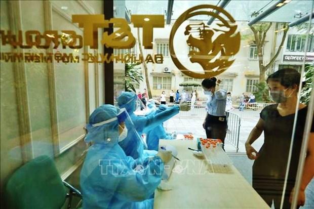 5月25日中午越南新增100例确诊病例 北江省87例 hinh anh 1