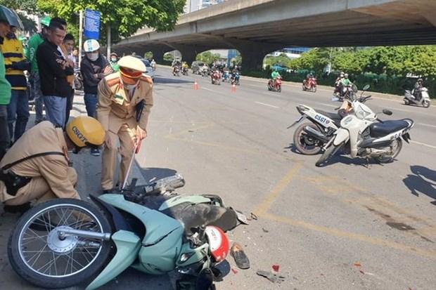 2021年前5个月越南交通事故死亡人数为2656人 hinh anh 1