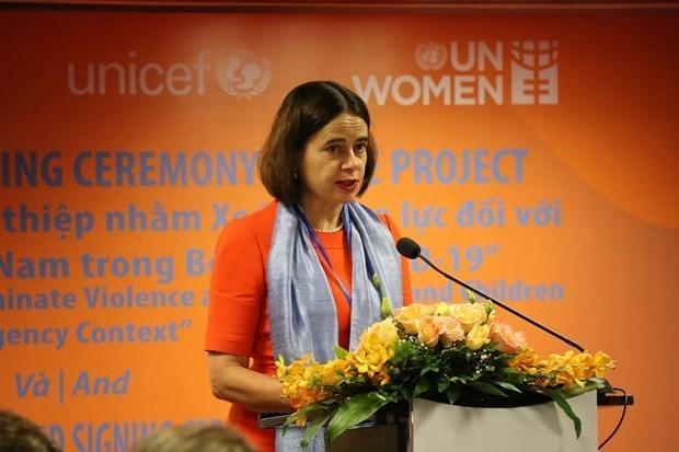 澳大利亚向越南提供1690亿越盾的援助 助力越南消除对妇女和儿童的暴力 hinh anh 1