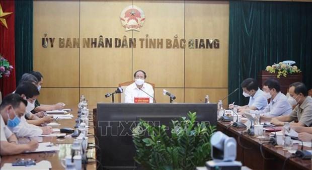 决不让新冠肺炎疫情蔓延至北宁和北江两省安全区域 hinh anh 3