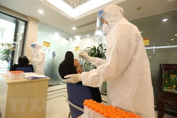 广宁省对从胡志明市返回的所有人进行新冠病毒检测 hinh anh 1
