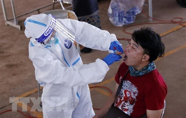 新冠肺炎疫情:老挝40多天以来首次无新增本土病例 hinh anh 1