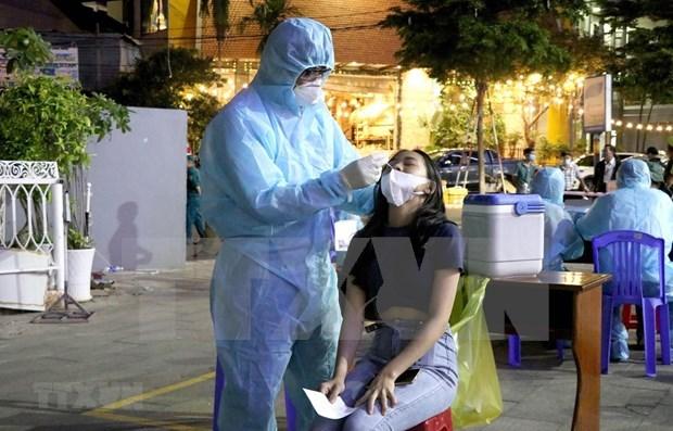 7月3日中午越南新增330例新冠肺炎确诊病例 hinh anh 1