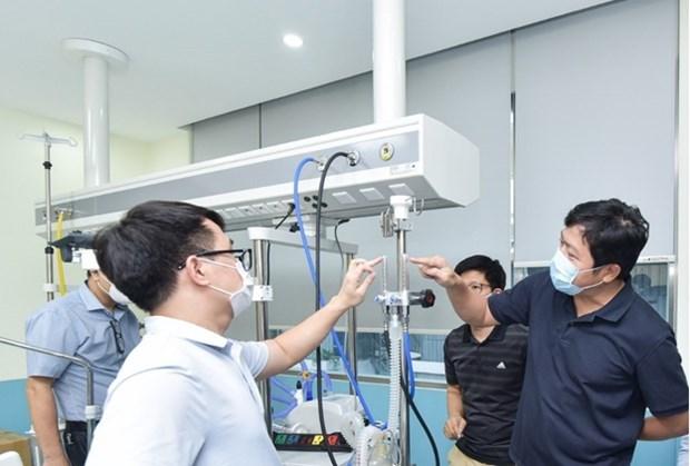 越南主动生产大流量制氧机 有效开展新冠肺炎疫情防控工作 hinh anh 1