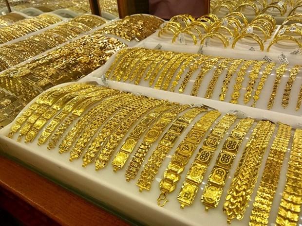8月4日上午越南国内黄金价格上涨5万越盾 hinh anh 1