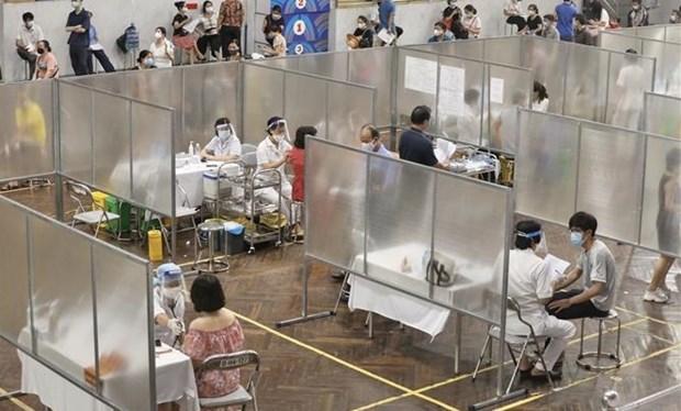 新冠肺炎疫情:河内市为新冠疫苗大规模接种工作做好准备 hinh anh 1