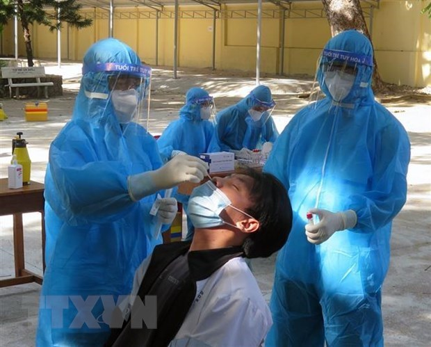 政府副总理武德儋:庆和和富安两省要加快检测速度 彻底遏制疫情 hinh anh 1