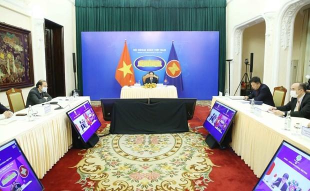 东盟-日本外长会议以线上形式举行 hinh anh 2