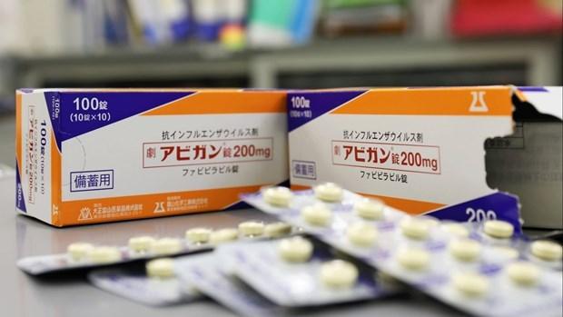 越南将接收100万粒日本抗流感药物法匹拉韦 hinh anh 1