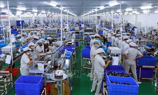 今年前8月越南外资到位额增长2% hinh anh 1