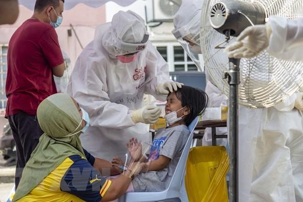 东南亚疫情:马来西亚新增确诊病例创纪录 马尼拉即将迎来疫情新高峰 hinh anh 1