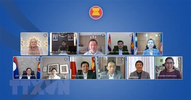越南出席第十二届东盟互联互通论坛 hinh anh 1