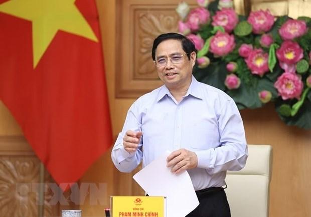 越南政府总理范明政:美国企业为促进越美全面伙伴关系发展做出贡献 hinh anh 1