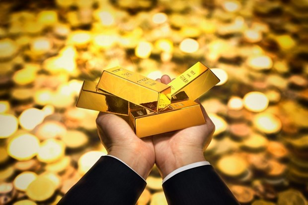 9月10日上午越南国内黄金价格继续下降25万越盾 hinh anh 1