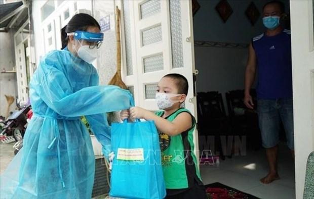 越南重视对因新冠肺炎疫情影响而处境困难的儿童提供援助 hinh anh 1