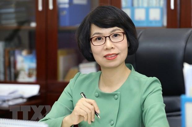 武越庄女士被任命为越南通讯社社长 hinh anh 1