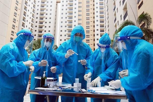 胡志明市拟定9月15日后的疫情防控计划 hinh anh 1