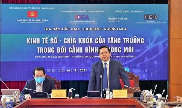 越南着力推动数字经济的发展 hinh anh 2