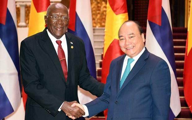 越南驻古巴大使:阮春福古巴之行是越古团结和友好关系的延续 hinh anh 1