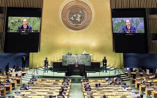 越南国家主席阮春福在第76届联合国大会一般性辩论上发表重要演讲 hinh anh 3