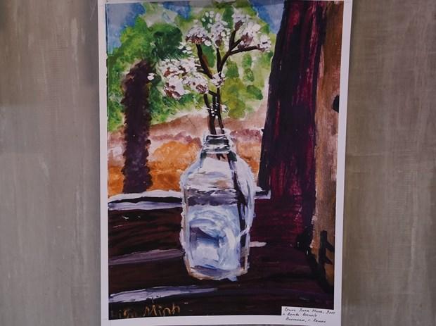 """越南两名儿童获得题为""""星球的自然""""的国际儿童绘画比赛的大奖 hinh anh 2"""