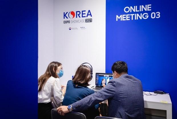 越韩两国企业加强贸易交往 hinh anh 1