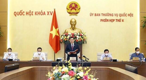越南第十五届国会常务委员会第四次会议开幕 hinh anh 1
