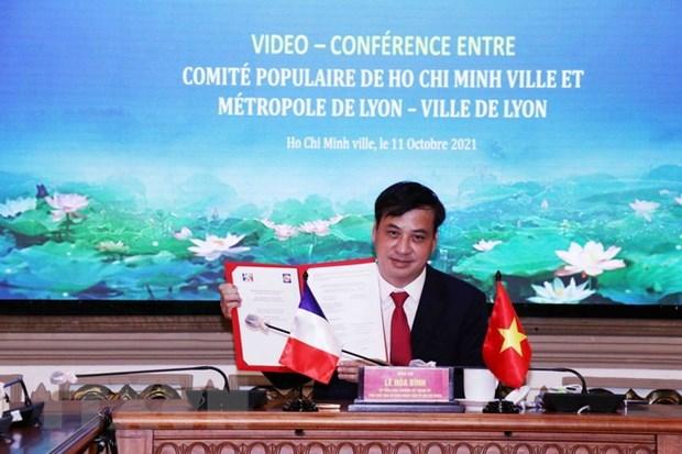 胡志明市同法国里昂市加强建筑照明领域合作 hinh anh 2