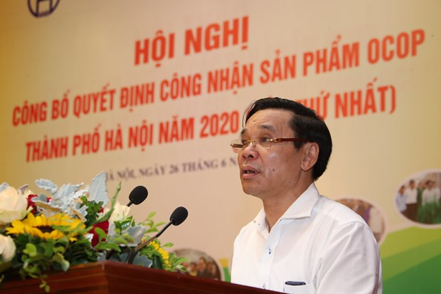 Ha Noi cong nhan 275 san pham OCOP nam 2020 hinh anh 2