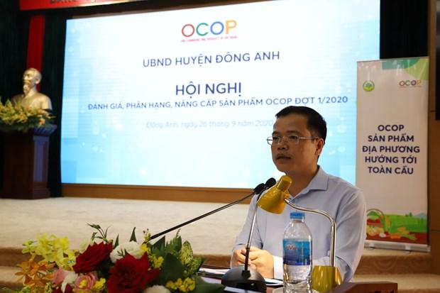 Dong Anh to chuc phan hang san pham OCOP hinh anh 2