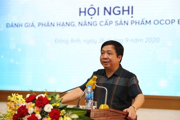 Dong Anh to chuc phan hang san pham OCOP hinh anh 3