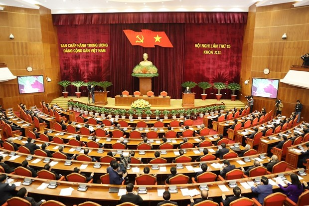 Hoi nghi lan thu 15 Ban Chap hanh Trung uong Dang khoa XII thanh cong tot dep hinh anh 1
