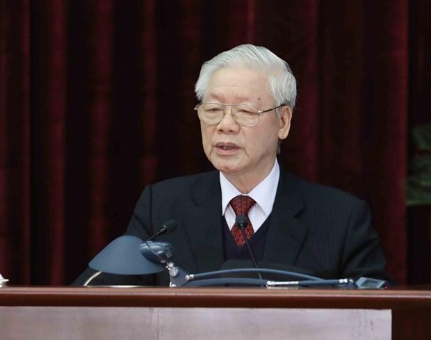 Hoi nghi lan thu 15 Ban Chap hanh Trung uong Dang khoa XII thanh cong tot dep hinh anh 2