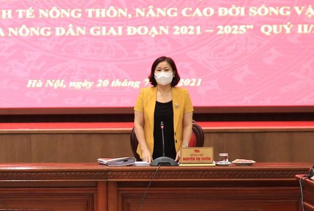 Ha Noi phan dau den het nam 2021 thu nhap nguoi dan nong thon dat 60 trieu dong/nguoi/nam hinh anh 7