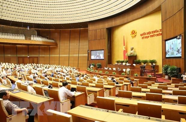 越南第十四届国会第九次会议第二个工作周 hinh anh 1