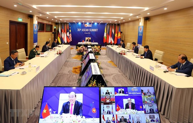 第36届东盟峰会颇受欧盟媒体的关注 hinh anh 1