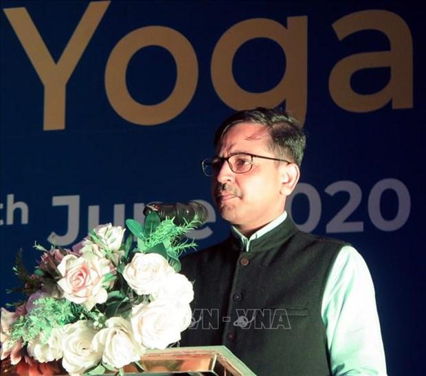 2020年第六届国际瑜伽日活动在富安省举行 hinh anh 1