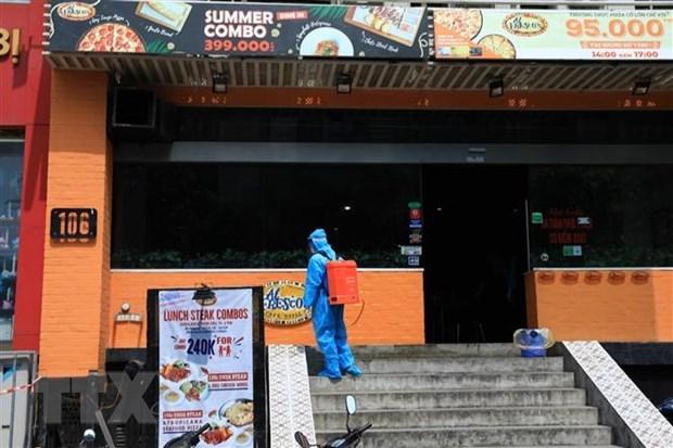 新冠肺炎疫情:河内市发生继发性感染病例 hinh anh 1