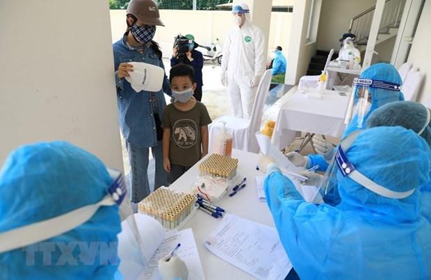 新冠肺炎疫情:河内市发生继发性感染病例 hinh anh 2