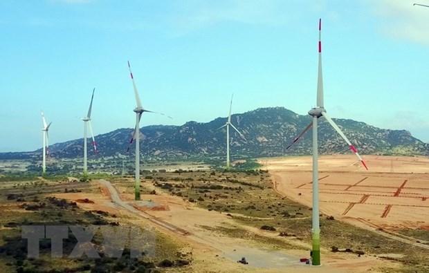 茶荣省V1-2风力发电厂正式动工兴建 hinh anh 2