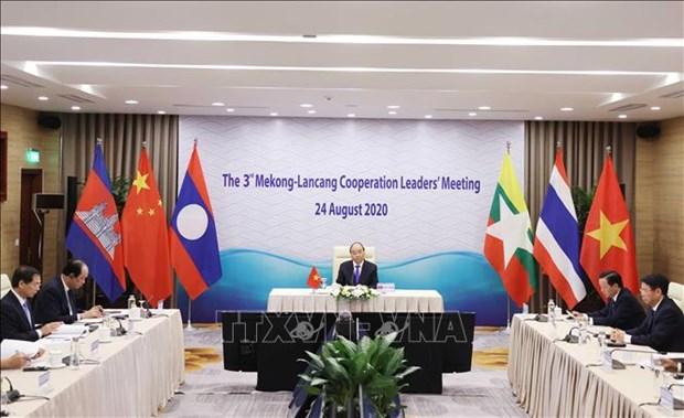 中国与湄公河国家分享澜沧江全年水文信息 hinh anh 2