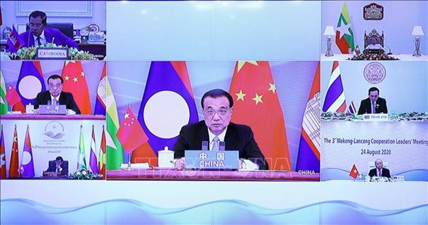 中国与湄公河国家分享澜沧江全年水文信息 hinh anh 1