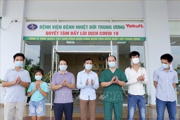 新冠肺炎疫情:越南新增治愈出院病例10例 hinh anh 1