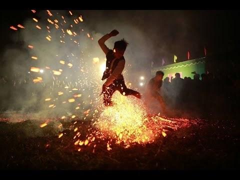 河江省红瑶族的跳火仪式被列入国家级非物质文化遗产名录 hinh anh 2