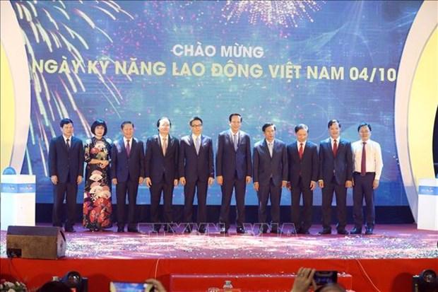 10月4日被定为越南劳动技能日 hinh anh 1
