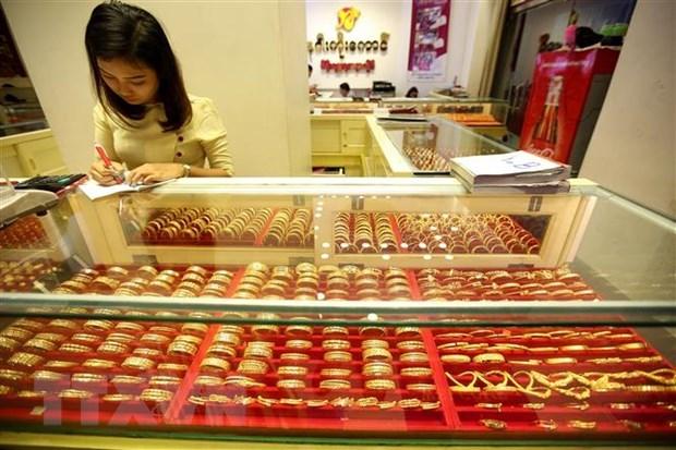 今日上午越南国内市场黄金价格大幅下跌 hinh anh 1