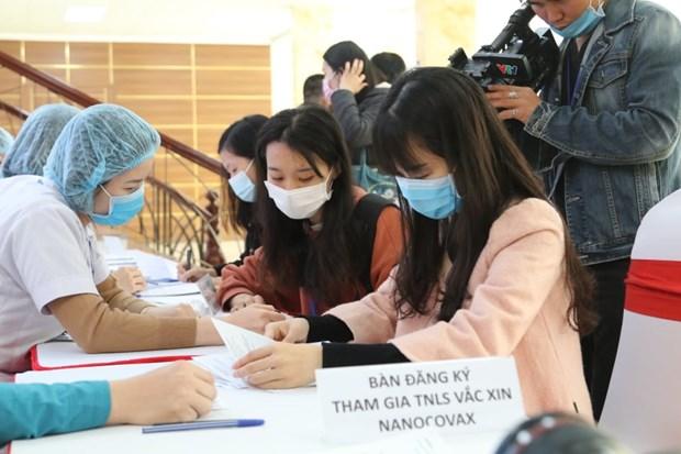 越南第二种新冠疫苗将于1月21日进行人体试验 hinh anh 1