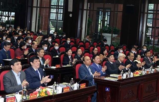 阮春福总理:卫生部要制定贴近越共十三大决议目标的具体行动计划 hinh anh 3