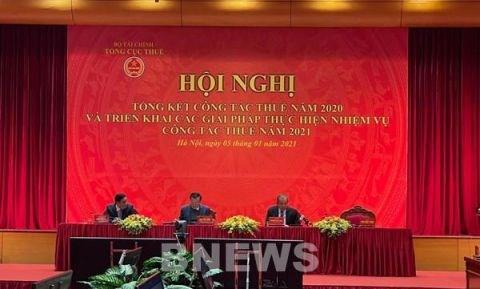 2020年越南税收收入达556亿美元 超过预算的1.9% hinh anh 1