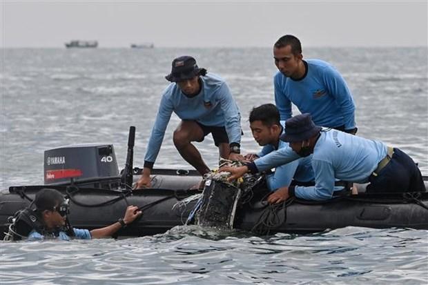 越南政府副总理兼外交部长范平明就印尼坠机事件向印尼外长致唁电 hinh anh 1